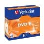 Verbatim DVD-R 4,7 Gb, 16х , (5шт) Jewel (43519)