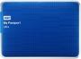 .500 GB, WD (WDBLNP5000ABL) My Passport Ultra, USB 3.0 blue