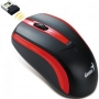 Genius NS-6005 беспроводная, 1000 dpi, черный-красный, USB