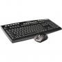Комплект A4Tech A4-9200F, USB Keyboar + Wireless Optical Mouse V-Track, , 19 доп. Клавиш