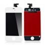 Дисплей для iPhone 4S + тачскрин белый с рамкой AAA