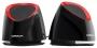 Crown CM000000604, CMS-279 (black/red), Колонки 2.0 CROWN CMS-279, 2*3Вт, 80-20000Гц, питание от USB