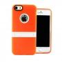 Накладка с подставкой для iPhone 5/5S оранжевый