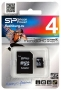 .4Gb Silicon Power MicroSDHC Class 4 SP004GBSTH004V10-SP