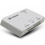Transcend, TS-RDP8W, Transcend USB2.0 Multi Card Reader RDP8 , White