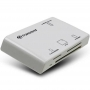 Transcend, TS-RDP8W, Transcend USB2.0 Multi Card Reader RDP8 , White