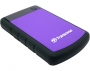 "Transcend, TS1TSJ25H3P, Transcend USB3.0 1TB StoreJet 2.5"" H Series Purple (Fully rubber cover, One"