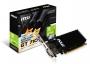 MSI, GT 710 2GD3H LP, VGA MSI NVIDIA GeForce GT 710, 2Gb GDDR3/64-bit, PCIe x16, DVIx1, D-Sub x 1, 1
