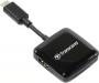 Transcend, TS-RDC2K, Transcend Black, SDHC, microSDHC, Card-Reader, USB Type-C, OTG