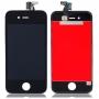 Дисплей для iPhone 4S + тачскрин черный с рамкой AAA
