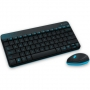 Logitech Wireless Combo MK240, USB, black
