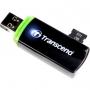 Transcend, TS-RDP5K, Transcend USB2.0 Card Reader RDP5 (SD/ microSD), Black