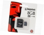 .8GB Transflash (MicroSD) Kingston  SDHC Class 10