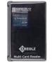 Kreolz VCR-451b, 63 в 1, все форматы/тонкий дизайн /отсек для карт, Картридер USB 2.0 reader/writer