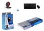 Комплект беспроводный Chicony WUG0977-BL-WEBCAM USB, черный, низкопрофильная мини кл-ра  без цифрово