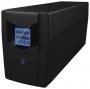 Ippon Back Power LCD Pro 800, интерактивный, 800 ВА, количество выходных разъемов: 3 (3 с питанием о