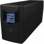Ippon Back Power LCD Pro 600, интерактивный, 600 ВА, количество выходных разъемов: 3 (3 с питанием о