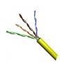 Кабель (1м) UTP 4 пары, категория 5е VCOM <VNC1100-YE> желтый