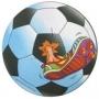 Buro матерчатый фигурный, футбол,  220х250х3мм