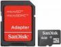 .4GB Transflash (MicroSDHC) SanDisk без адаптера (SDSDQM-004G-B35)