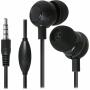 Defender 63429, Наушники с микрофоном для смартфона Defender Pulse 429, черный, вставки
