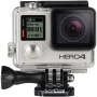 Action-камера GoPro HD HERO4 Silver Edition Adventure, 12Mpx/звук моно сенсорный/Wi-Fi/BT/2.7K/30/во