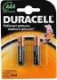 Элемент питания Duracell, AAA, (LR03-BL2) 6*2 (1шт), 6 блистеров по 2шт