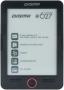 """Digma E627 Black 6"""" E-ink HD Pearl 600MHz 64Mb/4Gb/microSDHC/FM"""