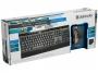 Комплект клавиатура+мышь Defender Cambridge C-995 Nano B, USB, Черный