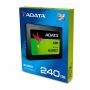 "ADATA, ASU650SS-240GT-C, ADATA 240GB SSD SU650 TLC 2.5"" SATAIII 3D NAND, SLC cach / without 2.5 to 3"