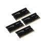 Kingston, HX421S14IBK4/64, Kingston 64GB 2133MHz DDR4 CL13 SODIMM (Kit of 4) HyperX Impact