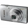 "Canon Digital IXUS 145 Silver (16MPix, 4608x3456, 8xZoom, F3.20 - 6.90, SD/SDHC, LCD2.7"")"