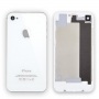Задняя крышка для iPhone 4S (белый) класс AAA