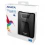 "ADATA, AHD650-2TU3-CBK, HDD ADATA 2.5"" USB3.0 2TB DashDrive HD650 ударопроч. (Black)"