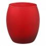 Светодиодная свеча в стакане ЭРА А13-RED красный стакан