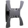 Кронштейн Holder LCDS-5019 для LCD/LED диагональ 19-40, наклонный,поворотный, до 30кг, черный глянец