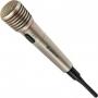 Defender 64140, Микрофон караоке беспроводной Defender MIC-140 серый, металл, радио 87-92 МГц