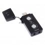 ASUS, XONAR_U3/UAD/B/A, ASUS USB audio card Hi-Fi for NB (USB2.0, Black).