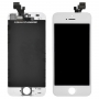Дисплей для iPhone 5S + тачскрин белый с рамкой AAA