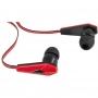 Defender 63704, Наушники вставки Defender Trendy 704 черный + красный