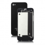 Задняя крышка для iPhone 4 (черный) класс AAA