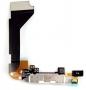 Шлейф для iPhone 4 + разъем зарядки (черный)
