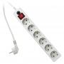 Сетевой фильтр ГАРНИЗОН  ЕН6-USB (5 розеток, 2 USB 2A, 1,8 М) белый