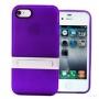 Накладка с подставкой для iPhone 4/4S фиолетовый