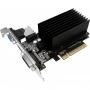 Palit, NEAT730NHD06-2080H, VGA PALIT NVIDIA GeForce GT 730, 1Gb GDDR3/64-bit, PCI-E 2.0 x 8, DVI, HD