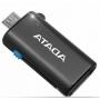 ADATA, AOTGMRBK, Card reader ADATA OTG microReader ( microUSB +USB 2.0 )
