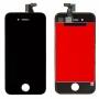 Дисплей для iPhone 4 + тачскрин черный с рамкой AAA