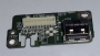 Acer Aspire 5920 5920G DAOZD1TB6F0 Rev:F  USB Port Board