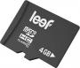 .4GB Transflash (MicroSDHC) Leef class 10 (LFMSD-00410R)